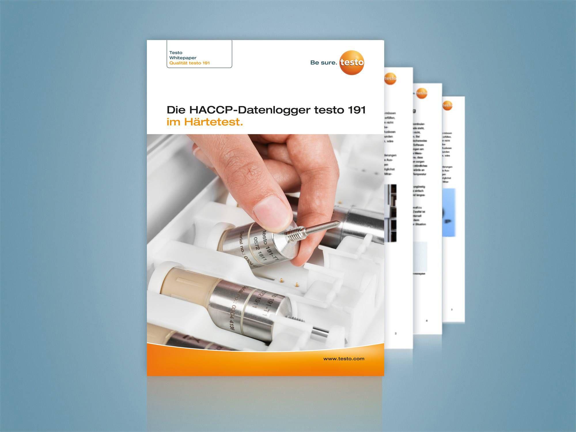 Whitepaper: Datenlogger testo 191 im Härtetest