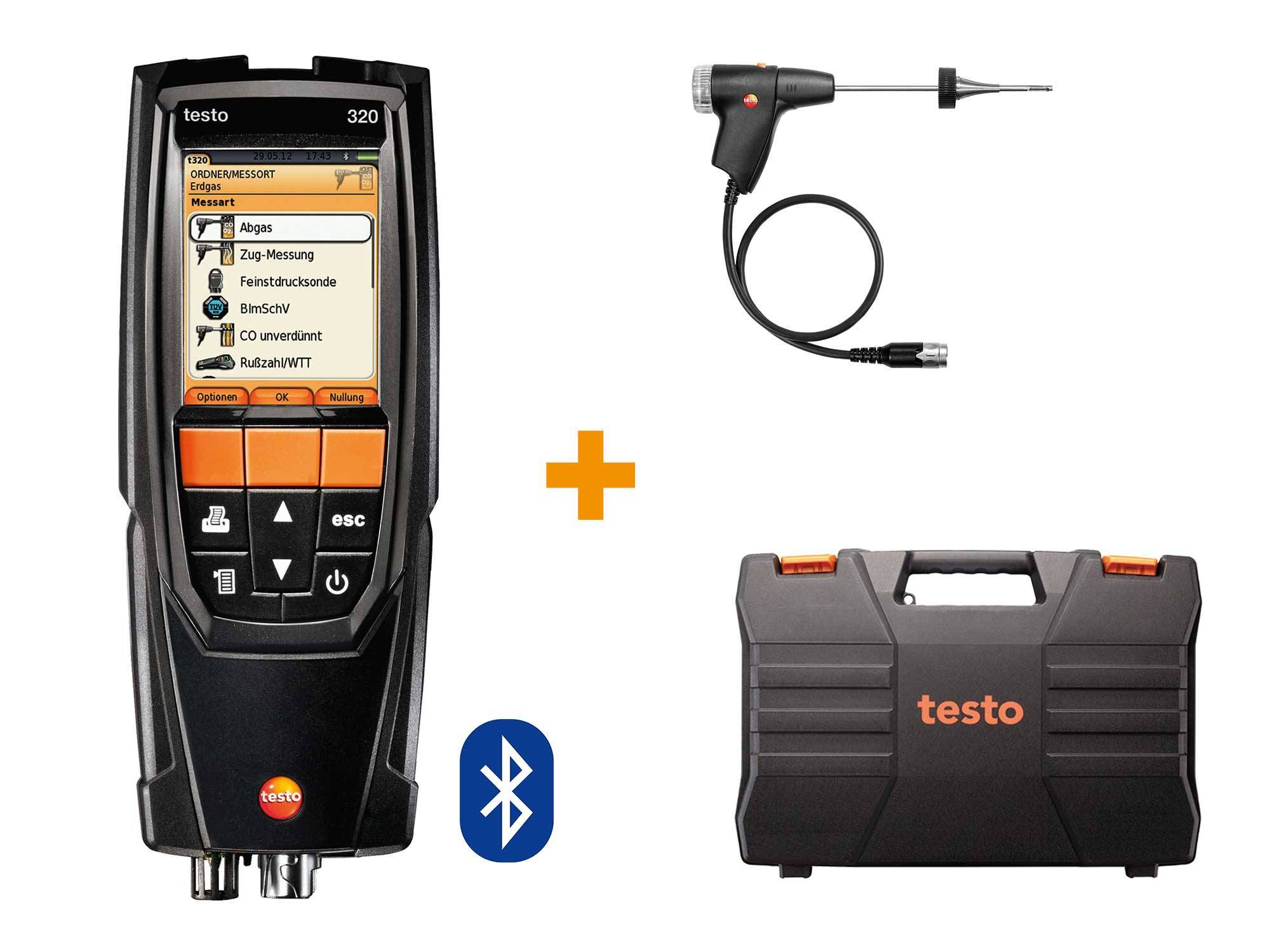 testo 320 Basic set met Bluetooth