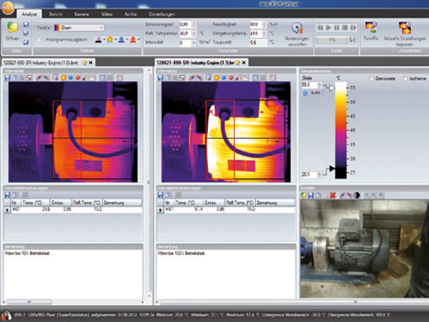 Software thermal imager
