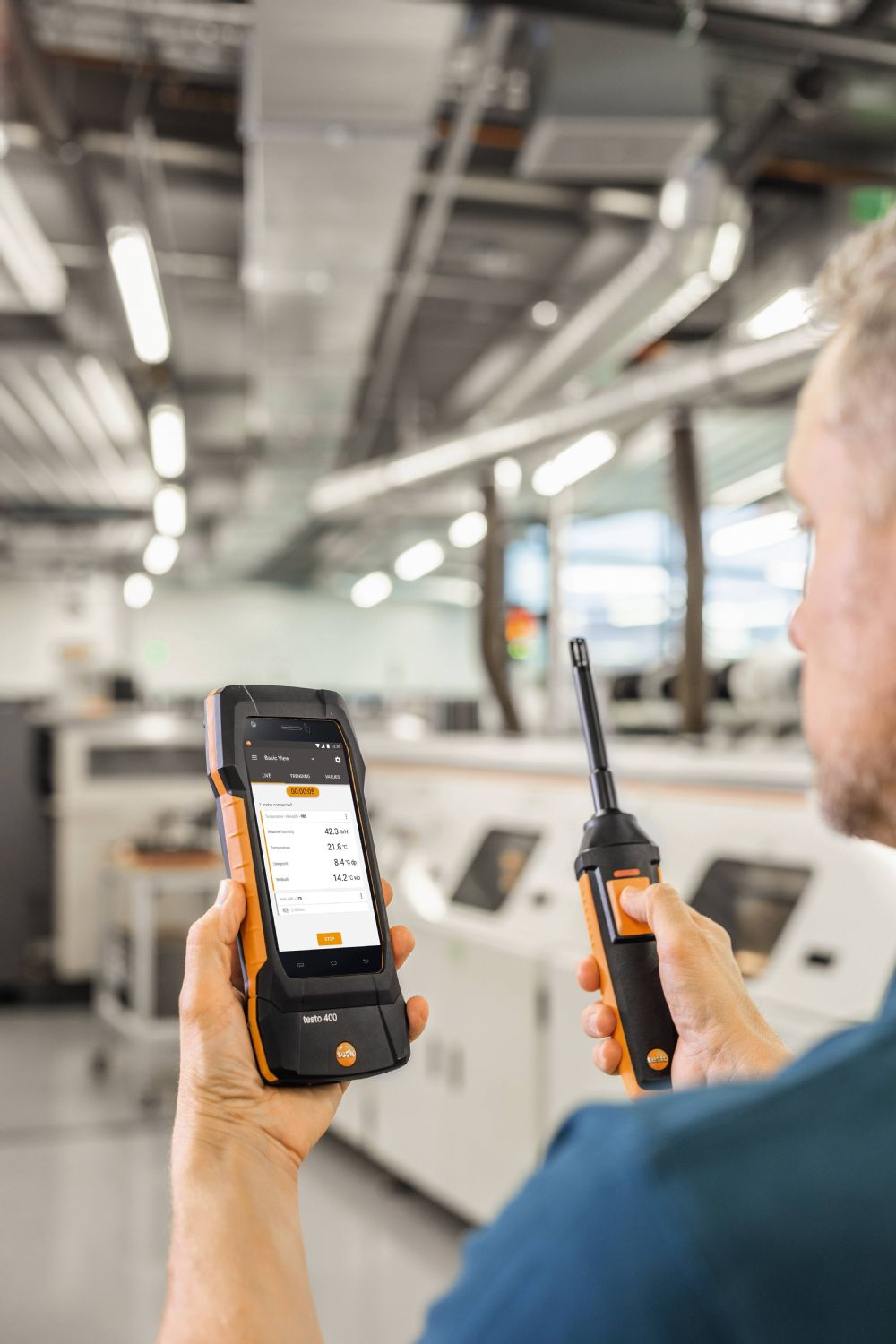 Testo 400 application image