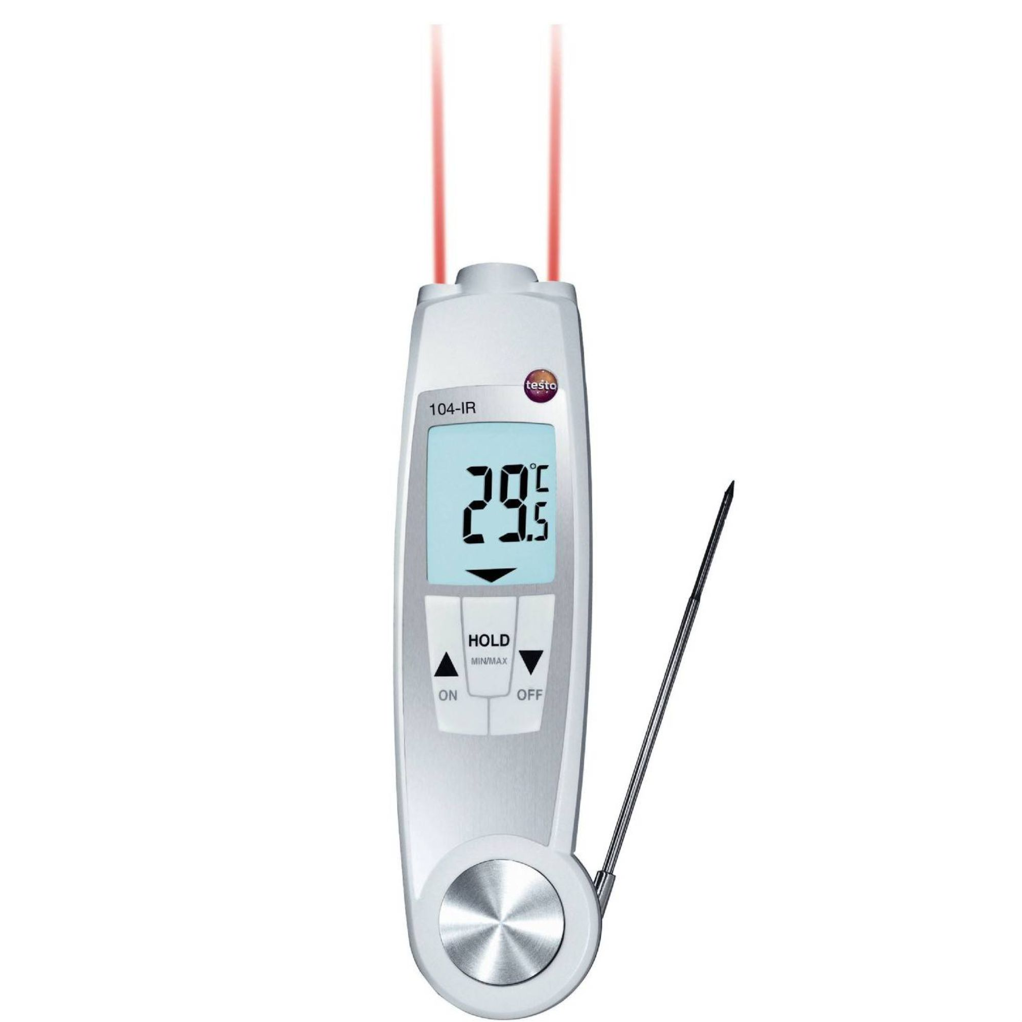Waterproof penetration thermometer