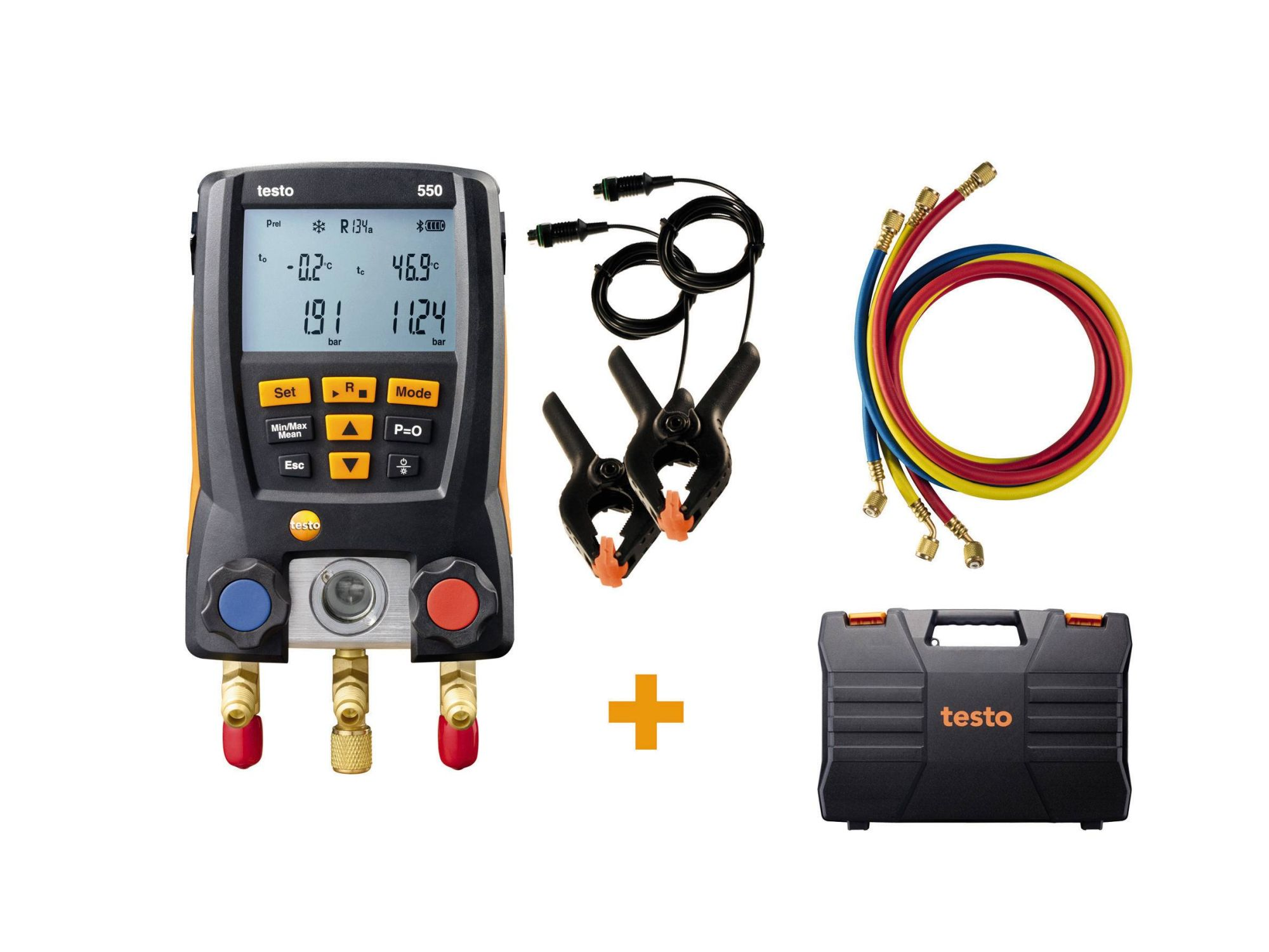 testo 550 digital manifold kit