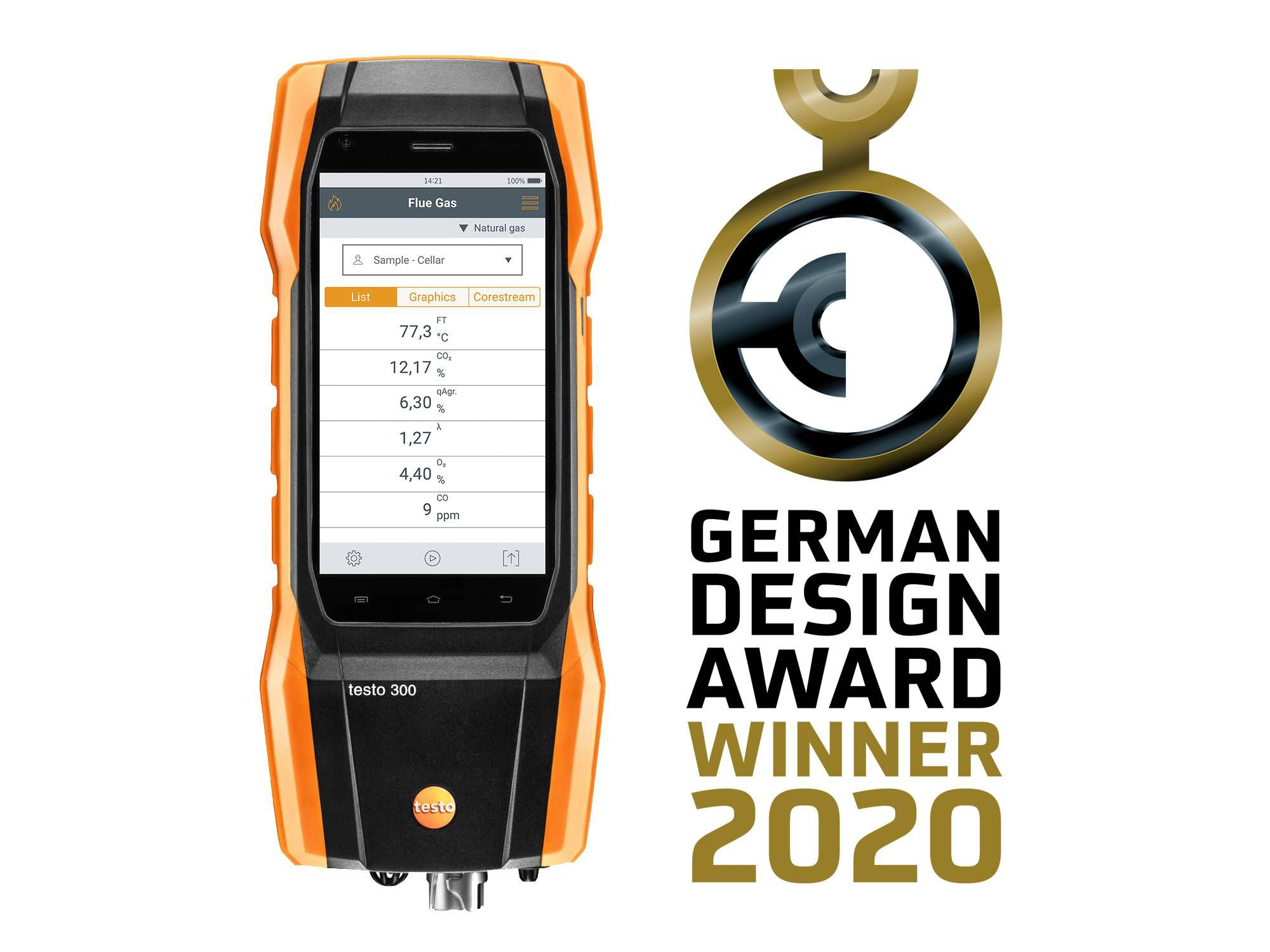testo 300 German Design Award
