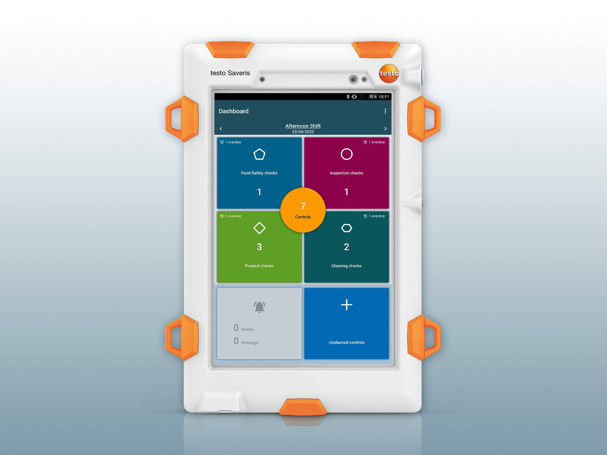 The testo Saveris Retail Chain Control Unit