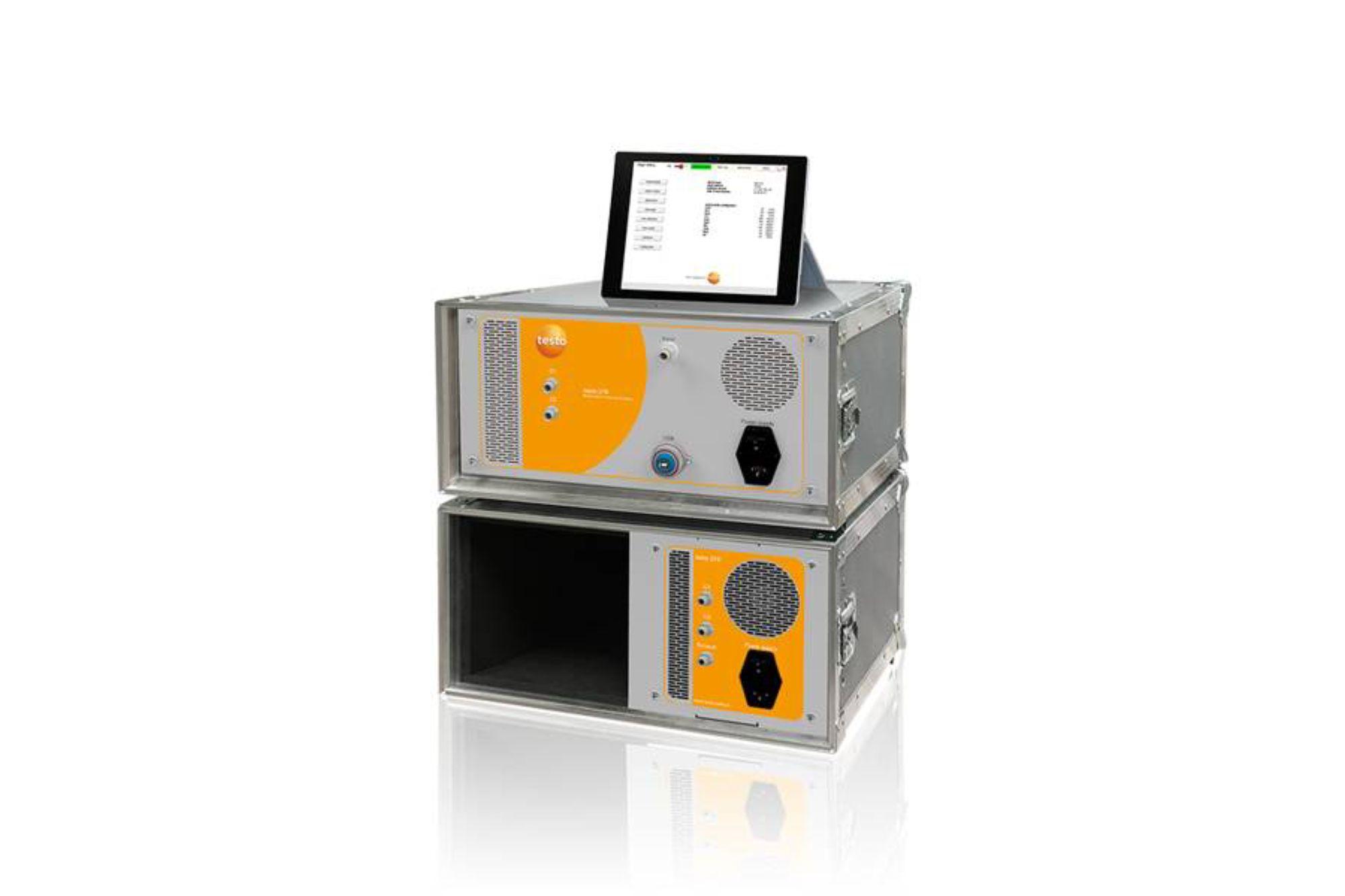 德图 testo 370 高温红外烟气分析仪