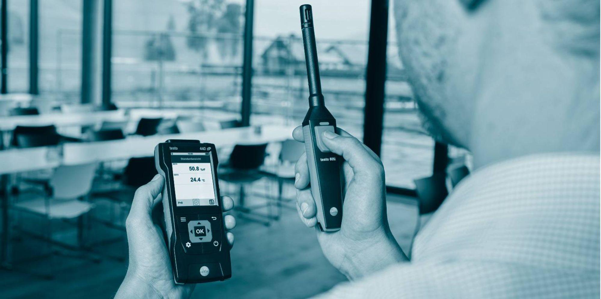Fan kontrollerinde enerji verimliliği için doğru debi-basınç ölçümü
