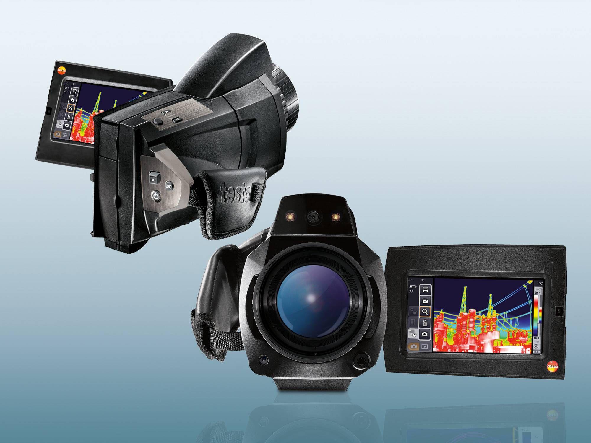 Thermal imager testo 885 and testo 890