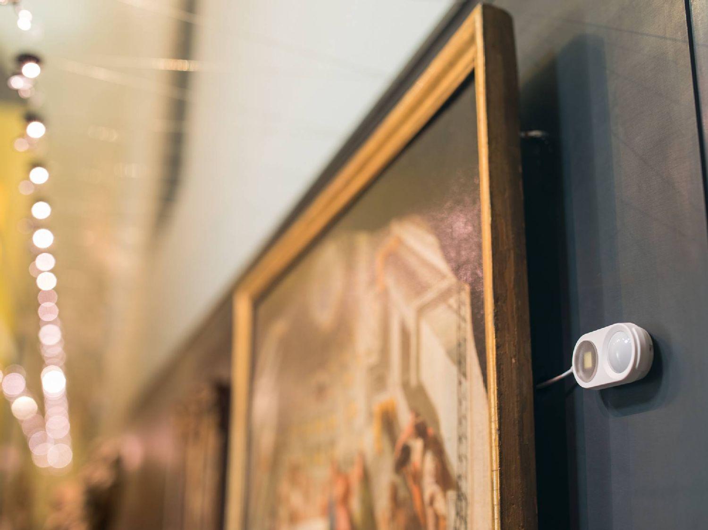 Nadzor muzejskih razstavnih vitrin
