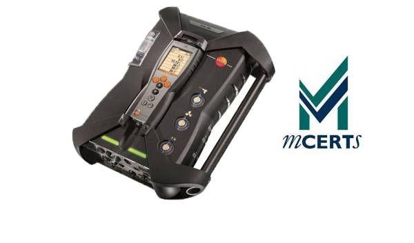 testo 350 MCERT Certificate