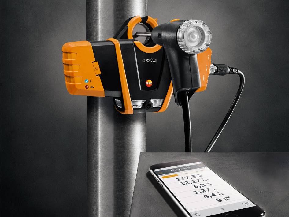 testo 330i baca gazı analiz cihazı uygulama videosu