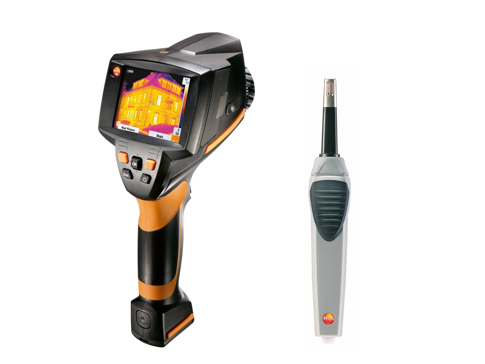 testo 875-2i Baudiagnose Set