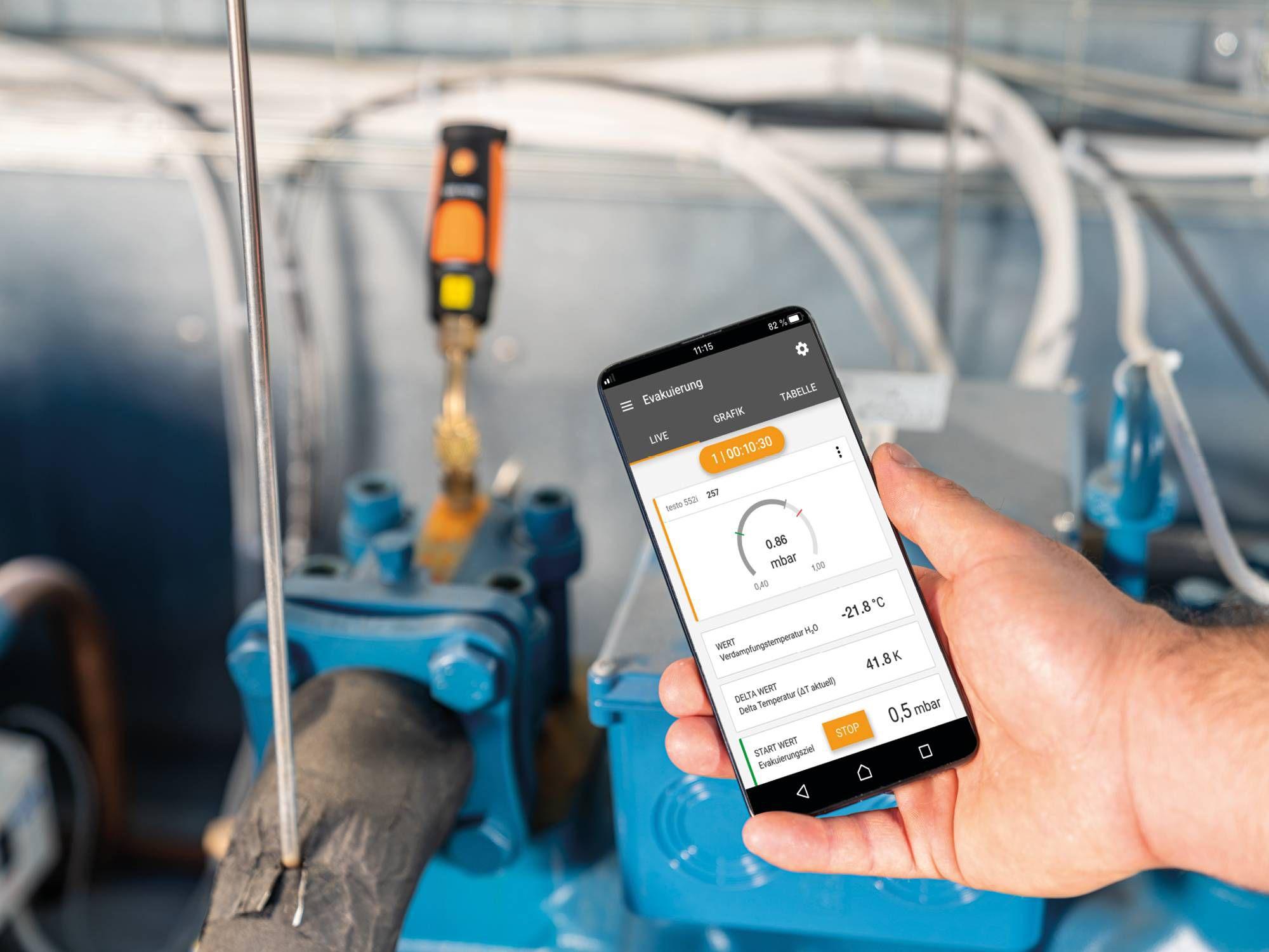 testo Smart App, testo 552i