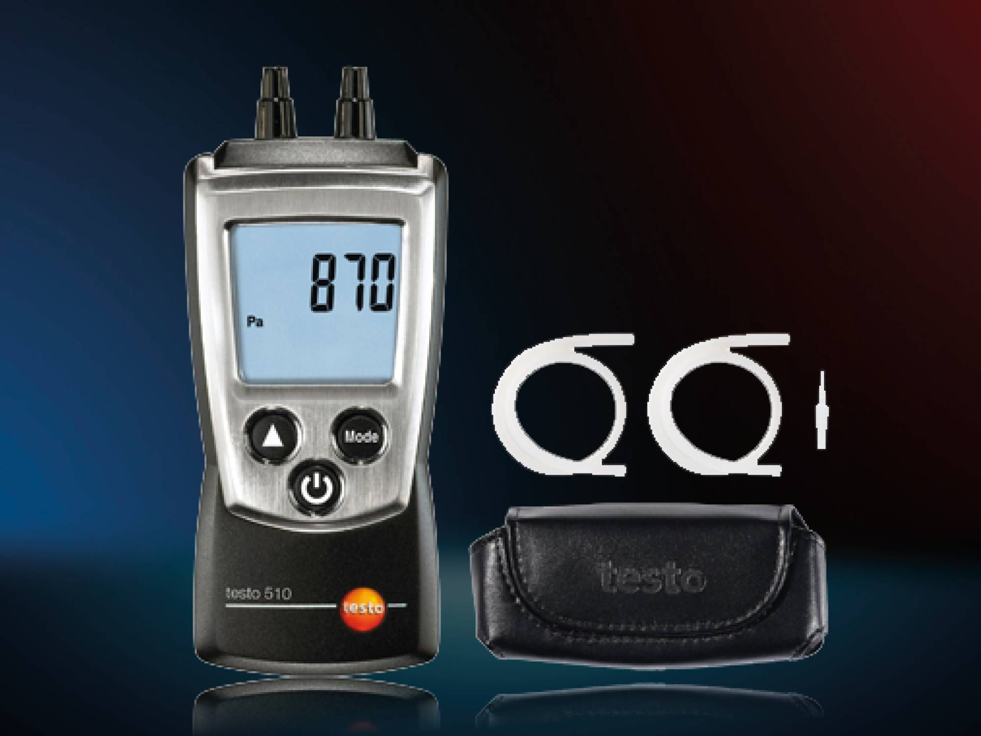 Set de presión diferencial testo 510