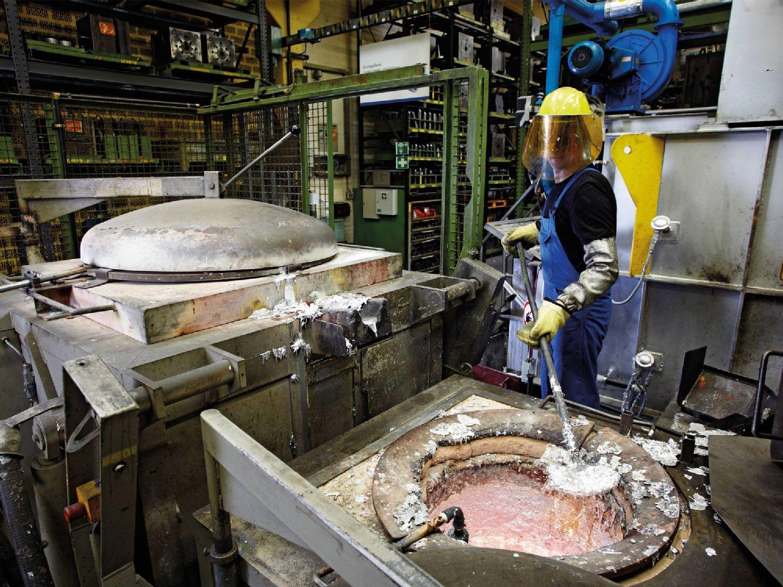 Trabalhos de alumínio