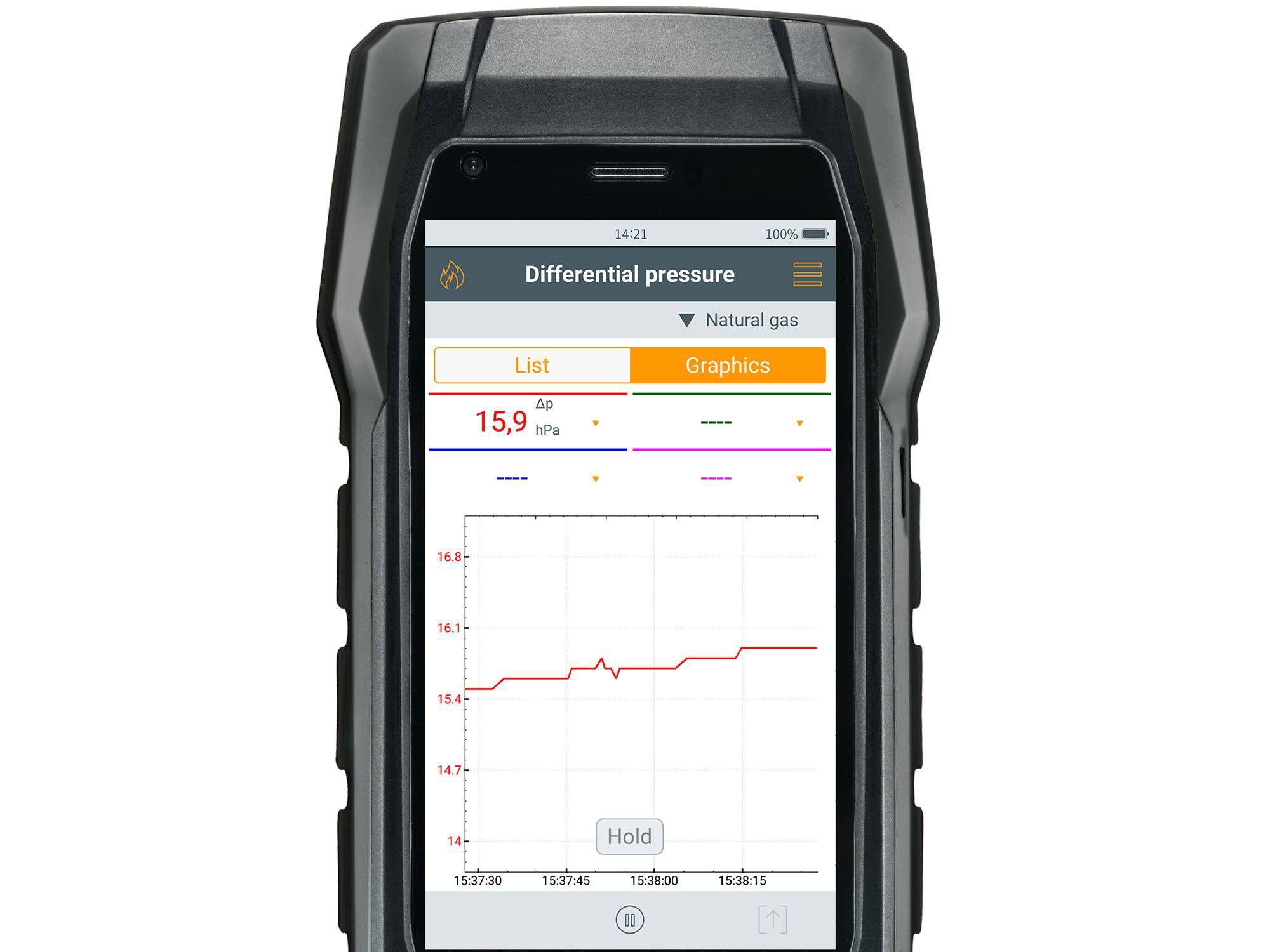 Testo differential pressure measurement