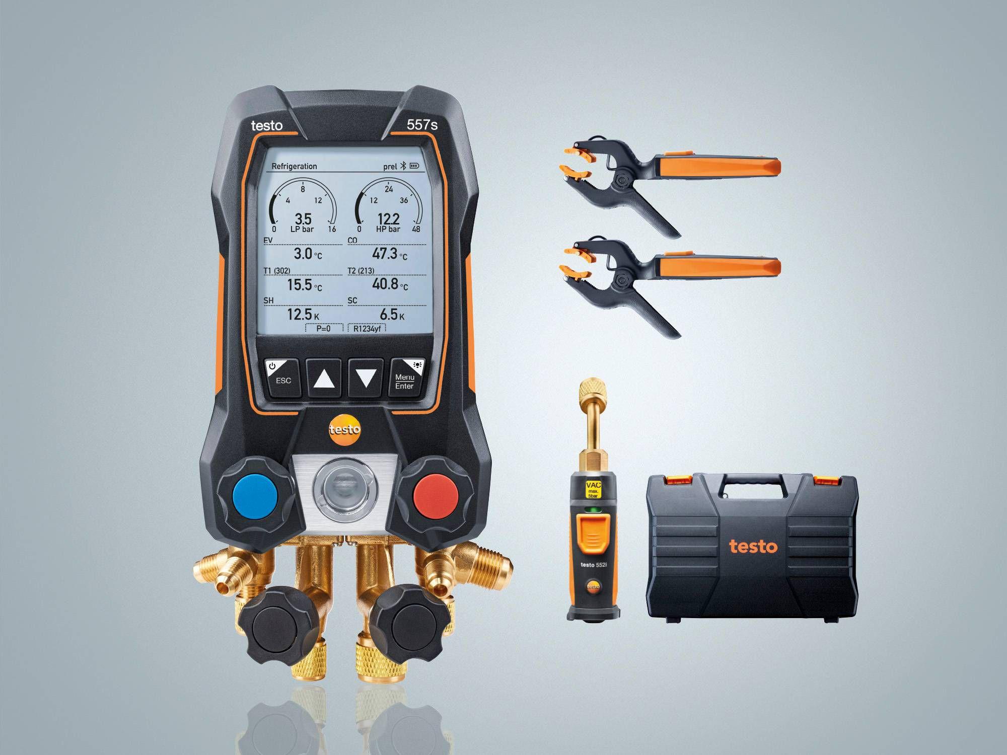 testo 557s Smart Vakuum Set