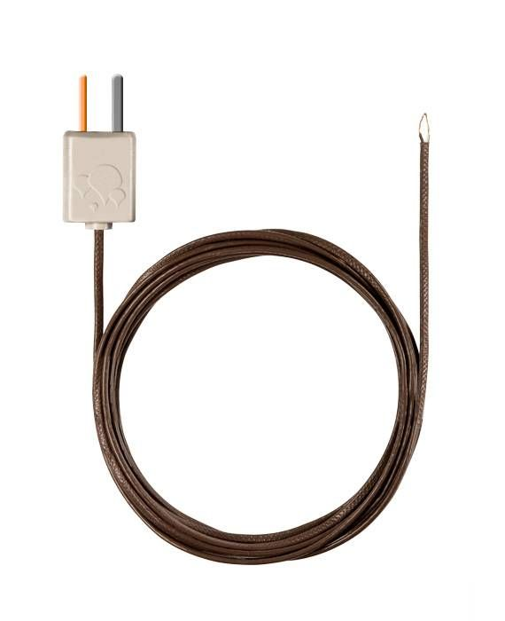 Thermocouple with TC adapter, flexible, 1500 mm long, PTFE