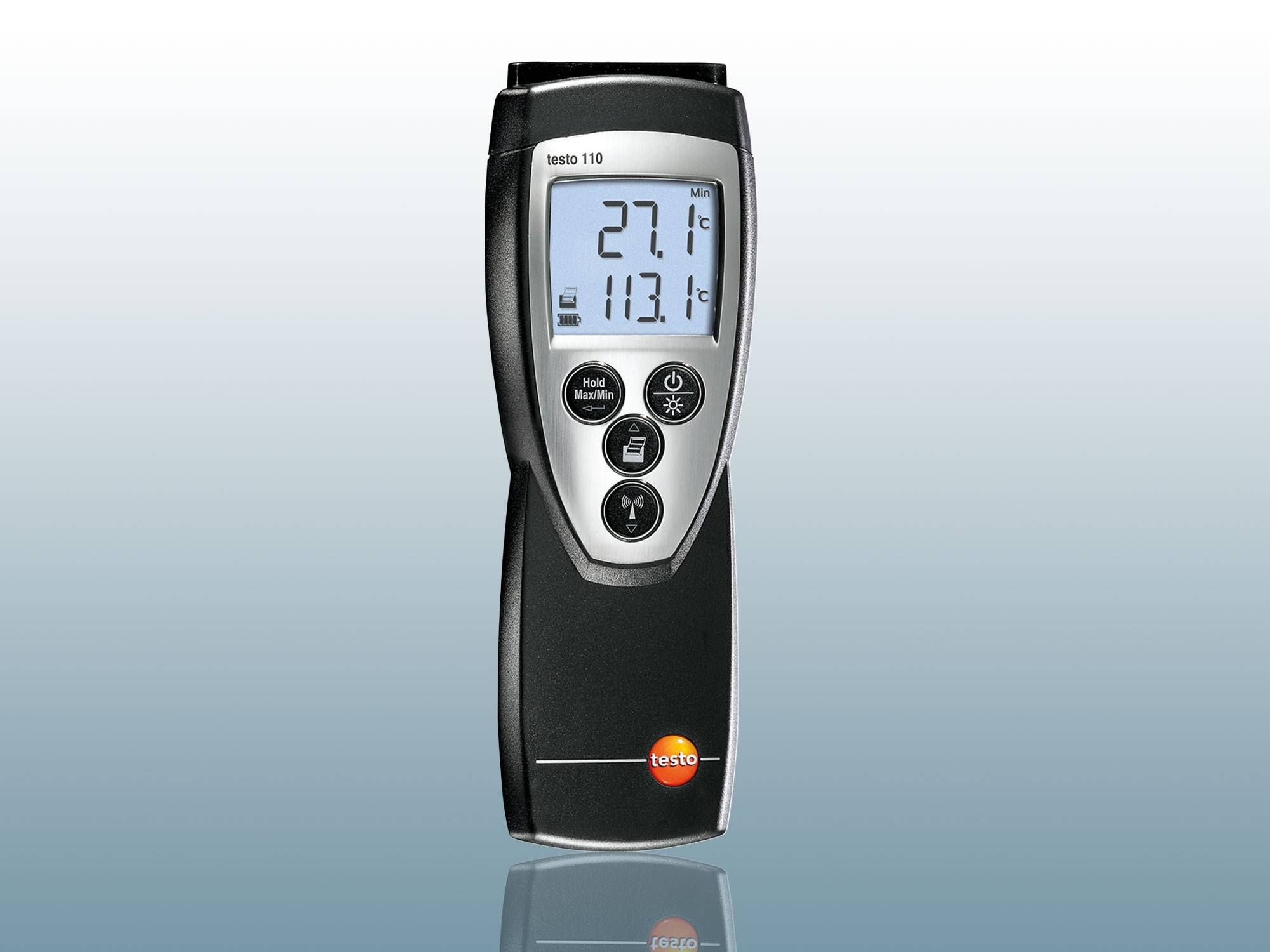 Air temperature meter