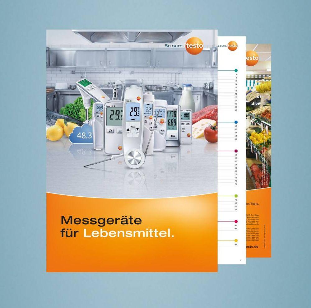 Testo Lebensmittel Katalog