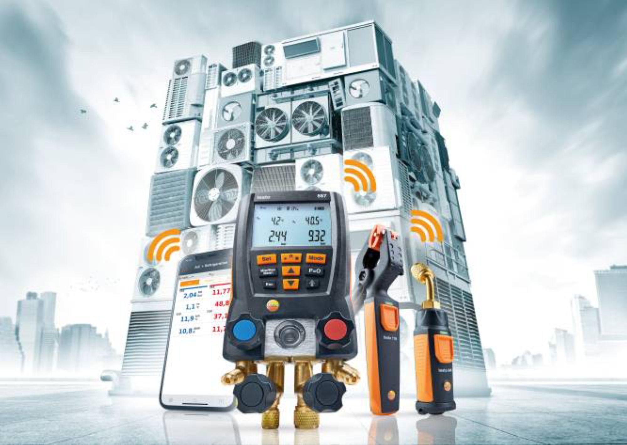 专为复杂的制冷系统而设计的测量技术