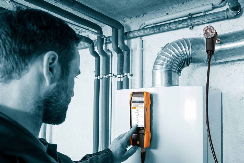 Smart air heating measurement