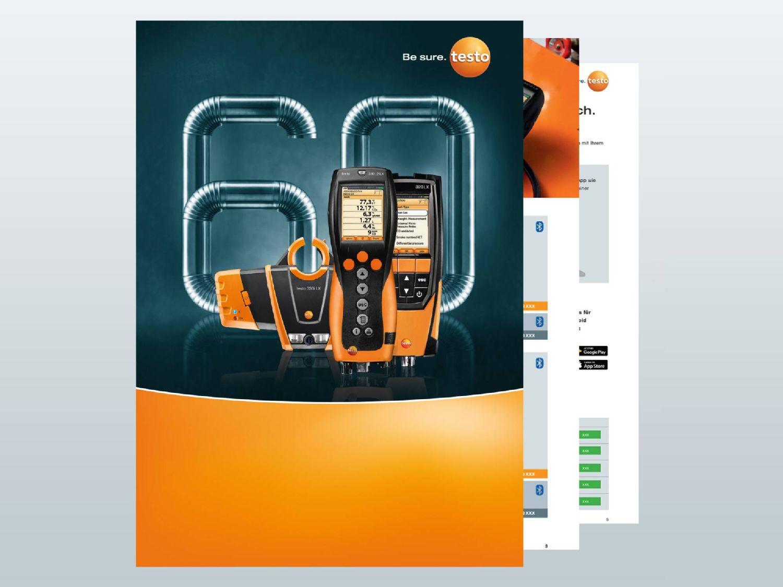Testo anniversary sets brochure