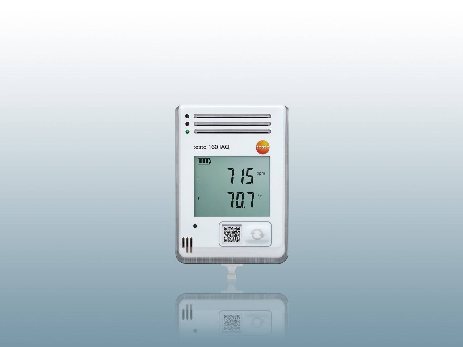 Data logger for CO₂
